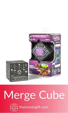 Merge Cube - Hold Holograms in Your Hand with Award Winning AR Toy for Kids - or Gifts Under 10, Gamer Gifts, Inexpensive Gift, Hologram, Cool Gadgets, Kids Toys, Consumer Electronics, Cube, Hold On
