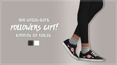 SKATING ON ROSES!Thank you so much for 2,500 followers, I can't believe this many people follow me, that is truly insane! ♥  Today I bring you more rose themed things in the form of shoe recolours, there are two swatches and are available for teen to...