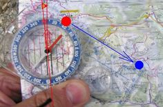 How to read compass