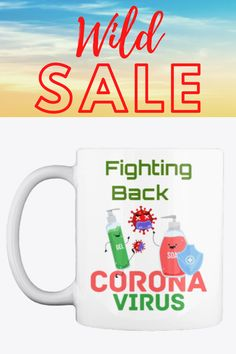 Excellent quality gift mug with a lovely design. The design is the same on both side of the gift mug. Fightng Back CoronaVirus Coffee/Tea Mug Would make a great gift for any occasion.