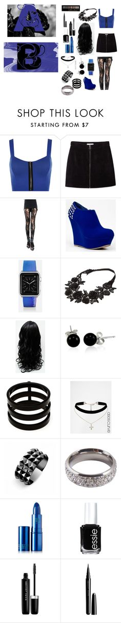 """""""A.B's                                     M.G"""" by destinywolfmen on Polyvore featuring WearAll, MANGO, Bamboo, Casetify, Bling Jewelry, Repossi, ASOS Curve, Waterford, Lucky Star Jewels and Lipstick Queen"""