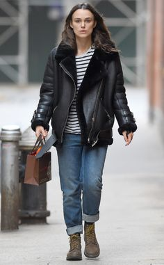 Keira Knightley from The Big Picture: Today's Hot Pics  The actress is seen out and about in NYC.