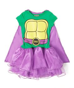 Another great find on #zulily! TMNT Skirted Costume - Girls #zulilyfinds