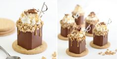 Toffee Candy Bar Shots by Sprinkle Bakes