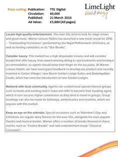 Bourne Leisure details new ways to sell to the mature market - TTG Digital (slide4)- 21 April 2016