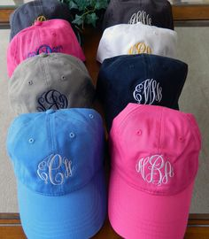 Personalized Monogrammed Baseball Hats 25 by PremierImpressions, $15.50