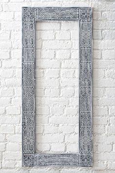 Boho Frame for mirror Black Entry Mirror, Wood Framed Mirror, Wall Mounted Mirror, Wall Mirrors, Unique Mirrors, Custom Mirrors, Beautiful Mirrors, Traditional Mirrors, Estilo Hippie
