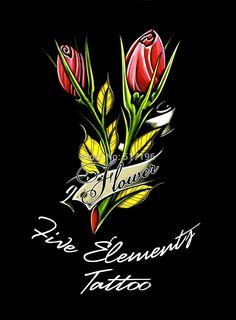 Tattoo Book The Five Element Tattoo Book- Rose Tattoo Designs Book . Tattoo Design Book, Tattoo Designs, Element Tattoo, Fifth Element, Tattoo Stencils, Tattoos, Rose, Artist, Books