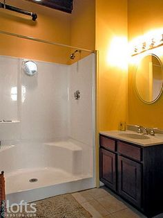Double wide stall showers | One Piece Shower Stalls
