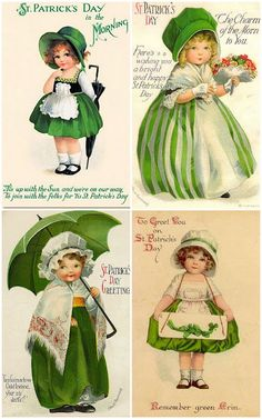 St Patrick's Day Free Collages for You!