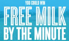 Enter to win free milk (enter once daily through 10/17/13)