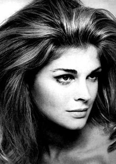 Murply Brown's Candice Bergen as a model, her earlier career.   Photo: David Bailey.