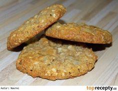 Ovesné sušenky II. Baked Potato, Banana Bread, Smoothies, Healthy Recipes, Cookies, Baking, Breakfast, Ethnic Recipes, Desserts