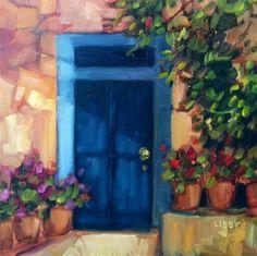 """""""Front Door"""" - Original Fine Art for Sale - © Libby Anderson"""