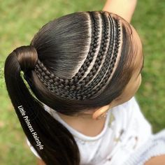 1,2,3,4,5,6,7,8,9 or 10???  Follow us  #hairstyles #haircuts #hair #2019 #trends Baddie Hairstyles, Braided Hairstyles, Hairstyles Haircuts, African Natural Hairstyles, Curly Hair Styles, Natural Hair Styles, Girl Hair Dos, Cute Little Girl Hairstyles, Kid Braid Styles