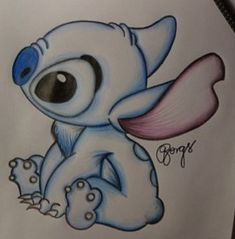 Just a drawing of Stich....