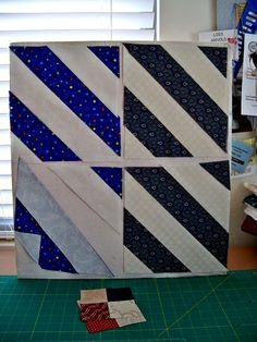 Одеяла и другие хорошие вещи: Половина площади треугольника Учебник - Смещение полосы Метод
