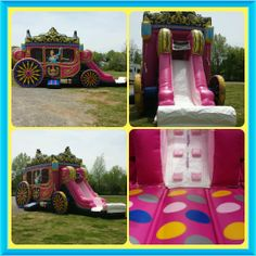 Call or text We rent Inflatable Bounce Houses, Mobile Video Game Trucks, and Tents in the Murfreesboro Tn Smyrna Tn, Antioch Tn Inflatable Rentals, Inflatable Bounce House, Rutherford County, Princess Carriage, 3rd Birthday, Birthday Ideas, Princess Party, Best Part Of Me, Things That Bounce