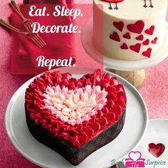 Eat.#sleep decorate.repeat.#cake #chocolate #sweet #yummy #giftidea #bookthesurprise