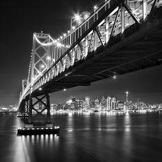 Bay Bridge and SF from Yerba Buena | von Rob Kroenert