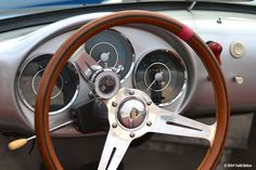 A very well-done Porsche 550 Spyder replica.