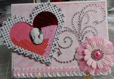 Iris Folding Valentine's Day Card - Scrapbook.com