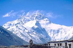 Mt.Everest (Qomolangma) from Tibet