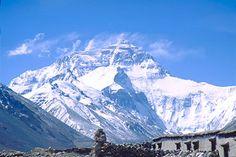 Mt.Everest (Qomolangma) from Tibet