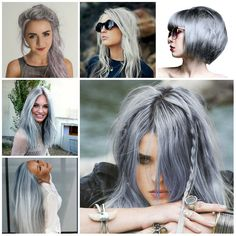 Gray Hair Ideas For 2017 //  #2017 #Gray #Hair #Ideas