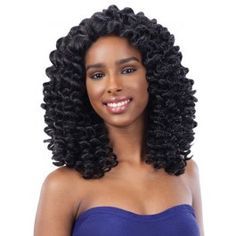 Freetress Equal Wand Curl Lace Front Wig Lace Deep Invisible L Part BUBBLE WAND