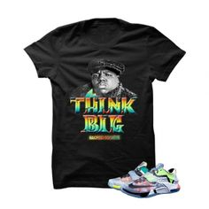 """Think Big Biggie WhatThe KD7 Black T Shirt. The Think Big Biggie WhatThe KD7 Black T Shirtis a premium quality sneakerhead t shirt. It matches with the Nike KD 7 """"WhatThe"""" Sneakers. *************************************************************** FOLLOW US ON INSTAGRAM: @illCurrency FOLLOW US ON TWITTER: @ill_Currency LIKE US ON FACEBOOK: facebook.com/illcurrency FOLLOW US ON PINTREST:pinterest.com/illcurrency"""