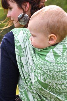 #kokadi mother nature 100% cotton, #babywearing #wovenwraps http://www.kokadi.de