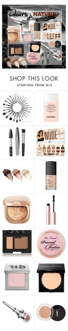 """""""colours of NATURE"""" by aneta-sundova on Polyvore featuring beauty, Chanel, Sephora Collection, Urban Decay, NARS Cosmetics, Too Faced Cosmetics, Bobbi Brown Cosmetics, Benefit and Yves Saint Laurent"""