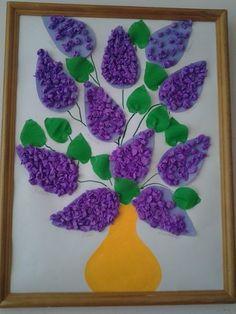 Spring Crafts For Kids, Summer Crafts, Diy For Kids, Diy And Crafts, Paper Crafts, Flower Crafts, Flower Art, Diy Cadeau Noel, Art N Craft