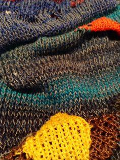 knit detail, short row Crochet Art, Knitting, Detail, Fashion, Moda, Tricot, La Mode, Breien, Fasion