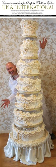 I love David's cakes! He is always an inspiration for cake decorators world wide.