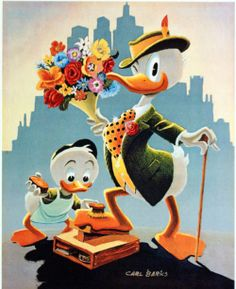 Dude For A Day by Carl Barks at the Illustration Art Gallery