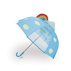 Key Stone see through umbrella Rainbow in the Sky 45cm - Japan cool culture and products information. - DOMO ARIGATO JAPAN