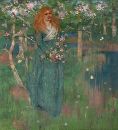 The Athenaeum - Spring (George Henry, R.A., R.S.A., R.S.W. - )