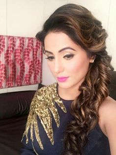 Beautiful and Gorgeous of #HinaKhan on #BiggBoss10