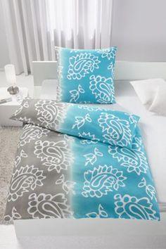 Bettwäsche aus 100% Polyester in verschiedenen Farben erhältlich. B/L: ca. 135/200cm und 80/80cm.