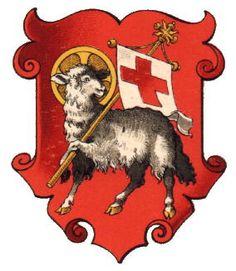 paschal lamb crest