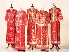 I would like to see some of Chinese tea ceremony dress.