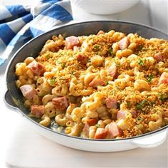 Johnsonville® Grown Up Mac & Cheese Recipe -Brought to you by The Kitchen at <B>Johnsonville® Sausage</B>.