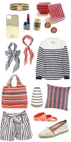 Stripes for summer.