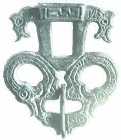 Dragon Headed belt buckle 7th CenturyCE, Germany