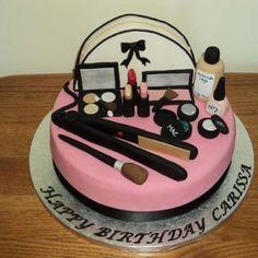 'Hair & Make up' cake!