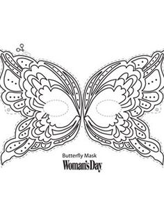 Butterfly Mask - WomansDay.com