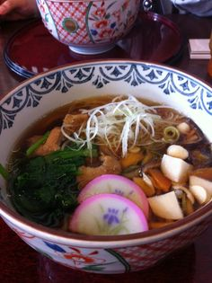 Japanese food FUKUSHIMA KOZUYU SOBA  郷土料理 福島県会津 こづゆ蕎麦