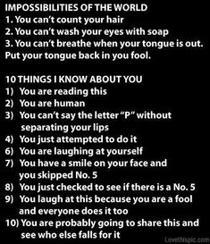 omg fell for every one of these. its so true how did they know I would do all of that?!